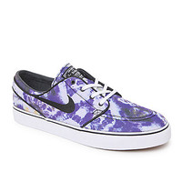 Nike SB Zoom Stefan Janoski Premium Tie Dye Shoes - Mens Shoes - Black - 5