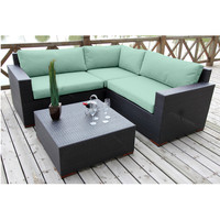 NEW Bali 4 Piece Conversation Sectional Set