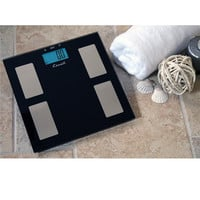 Escali Black Glass Elegance Scale