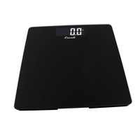 Escali Square Glass Platform Bathroom Scale