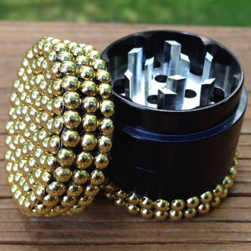 GRINDER -- MINIS Collection -- Gold Half-Pearls