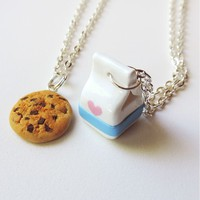 Milk and Cookie Best Friends Necklaces