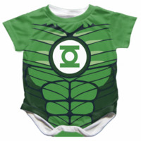 Green Lantern Baby Onesuit - Available 0-24 Months