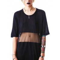 Widow Summer's Eve Jersey Mesh Top | Dolls Kill