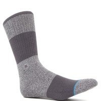 Stance Spectrum Crew Socks - Mens Socks - Gray - One
