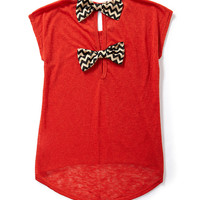 Moa Moa Double Bow-Back Top | Dillards.com
