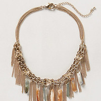 Stalactite Fringe Necklace