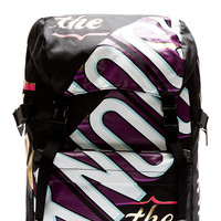 Juun.j Black Printed Cant Knock The Hustle Rucksack