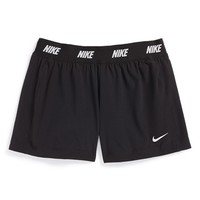 Nike 'Icon' 2-in-1 Woven Shorts (Little Girls & Big Girls)