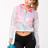 NIKE TRANSPARENT JACKET