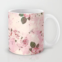 Roses Pattern Mug by Rui Faria | Society6