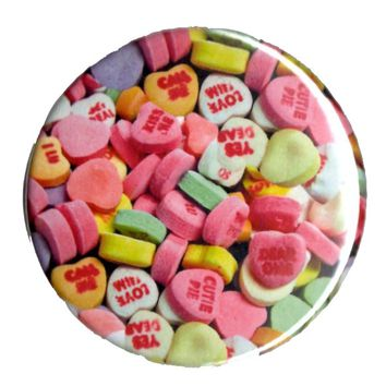 B2 – CANDY HEARTS COMPACT MIRROR