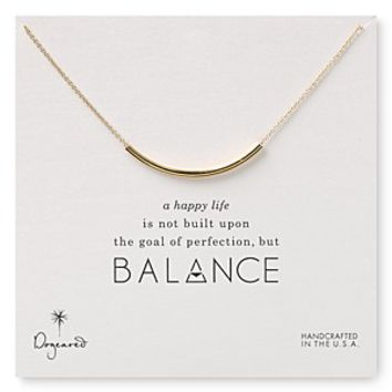Dogeared Balance Necklace, 18""