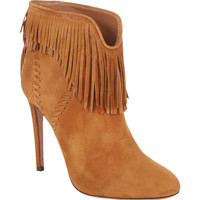Fringed Tina Ankle Boots