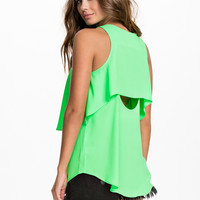 Neon Top from RIVER ISLAND - SL RACER BACK VEST