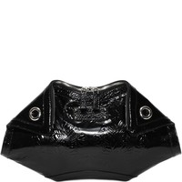 Embossed Ivy Patent Leather De Manta Clutch Alexander McQueen | Clutch | Bags |
