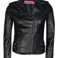 Amy PU Biker Jacket