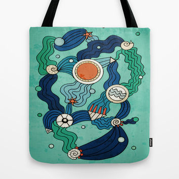 The Aquatic Environment Tote Bag by DuckyB (Brandi)