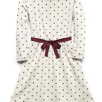 Polka Dot Fit & Flare Dress (Kids)