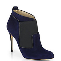 Paul Andrew - Beaufort Suede Ankle Boots - Saks Fifth Avenue Mobile