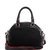 Christian Louboutin - Panettone Studded Shoulder Bag - Saks Fifth Avenue Mobile