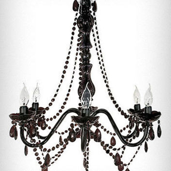 Bijou Black Chandelier Light | PLASTICLAND