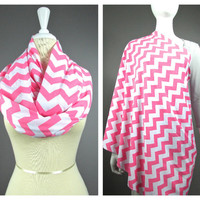 Nursing cover  scarf, nursing cover, infinity scarf, Pink scarf, breastfeeding cover, nursing infinity scarf