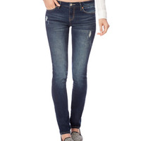 Skinny Destroyed Medium Wash Jean