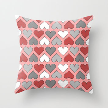 I Heart You Throw Pillow by tzaei | Society6