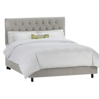 Edwardian Upholstered Velvet Bed Collection