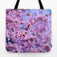 Pink world Tote Bag by Guido Montañés