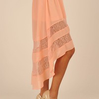 Church Girl Skirt - Pink at Necessary Clothing