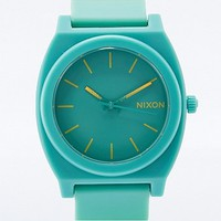 Nixon Time Teller Rubber Watch in Teal Tri-Colour - Urban Outfitters