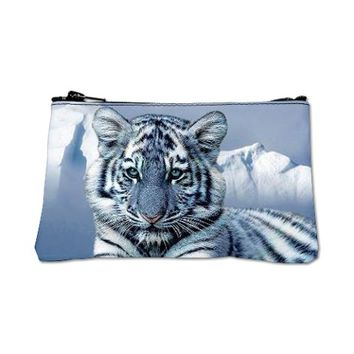Blue Tiger Coin Purse