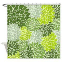 vintage floral art Shower Curtain> vintage floral art > Allcolor