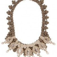 Boutique 1 - EK THONGPRASERT - Grey Ballonne Necklace | Boutique1.com