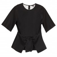 Boutique 1 - RAOUL - Black Tayla Neoprene Top | Boutique1.com