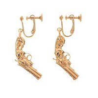 Gun drop earrings