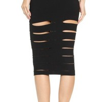 Slash Pencil Skirt