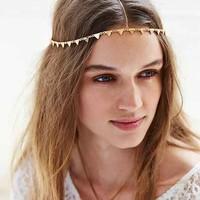 Triangle Goddess Chain Headwrap - Urban Outfitters