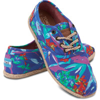 BLUE BIRDS OF PARADISE WOMEN'S CORDONES