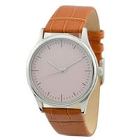 Minimalist Watch Beige