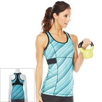 Tek Gear® Striped Racerback Yoga Tank - Women's