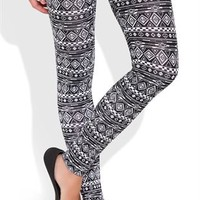 Legging with Tribal Print