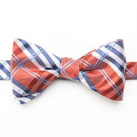 Croft & Barrow® Plaid Pretied Bow Tie - Men