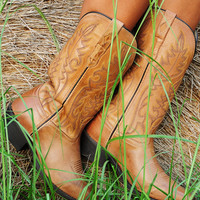 Ride With You Boots: Tan