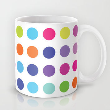 Colourful Dots  Mug by Ornaart