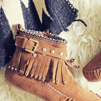 Mountain Gypsy Moccasins