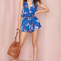 Nasty Gal Stay on Tropic Romper