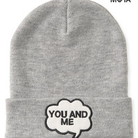 You And Me Beanie -